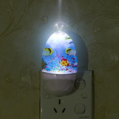 mooie onderzeese wereld smart licht gecontroleerd noodsituatie geleid nacht licht voor kinderkamer woninginrichting (assorti kleur)