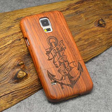 Para Samsung Galaxy Capinhas Case Tampa Estampada Capa Traseira Capinha Madeira Madeira para Samsung S5