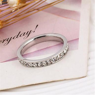 Mulheres Anéis Grossos Luxo Fashion Estilo simples Zircônia Cubica Imitações de Diamante Liga Jóias Festa