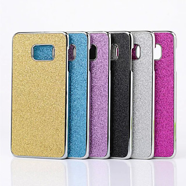 Etui Til Samsung Galaxy Samsung Galaxy S7 Edge Belægning Bagcover Glitterskin PC for S7 edge / S7 / S6 edge plus