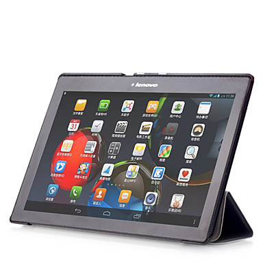 economico Custodie per tablet-Custodia Per Lenovo Integrale / Casi Tablet Tinta unita Resistente pelle sintetica per Lenovo Tab 2 A10-30F / L (TB2-X30)