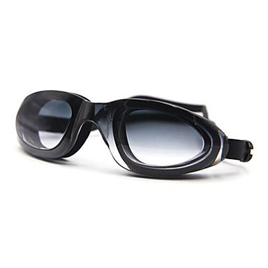 Óculos de Natação Anti-Nevoeiro silica Gel PC Preto Azul Branco Vermelho Preto Azul Roxo Outras Verde