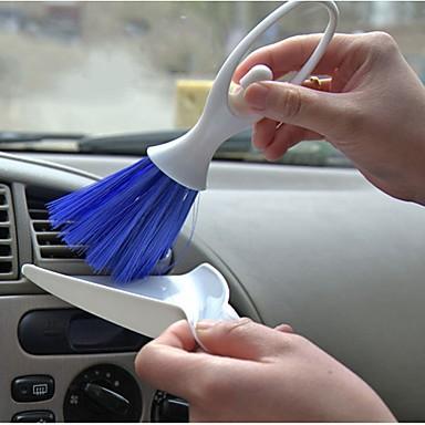 ziqiao 2 em 1 multi-função de escova de ar condicionado de automóveis gap vento