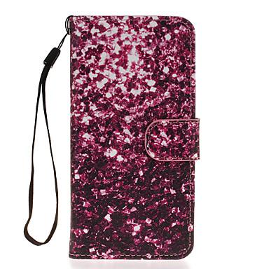 Voor Samsung Galaxy S7 Edge Portemonnee / Kaarthouder / met standaard / Flip hoesje Volledige behuizing hoesje Tegels PU-leer SamsungS7
