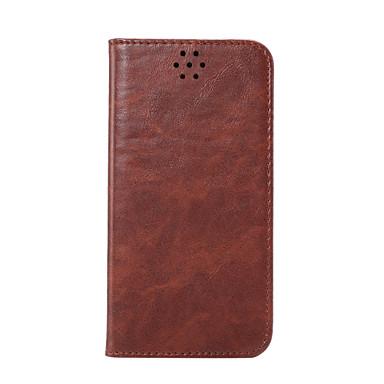 tok Για Samsung Galaxy S7 edge S7 Θήκη καρτών Πορτοφόλι με βάση στήριξης Ανοιγόμενη Πλήρης κάλυψη Συμπαγές Χρώμα Σκληρή PU Δέρμα για S7