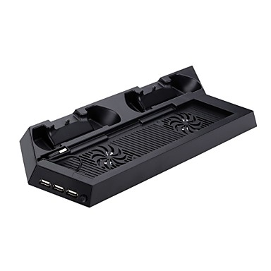 P4-CS001B USB Ventilatoren en Statieven - PS4 Sony PS4 Oplaadbaar USB-Hub Vast #