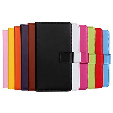 Para Capinha Nokia Carteira / Porta-Cartão / Com Suporte Capinha Corpo Inteiro Capinha Cor Única Rígida Couro PU NokiaNokia Lumia 1020 /