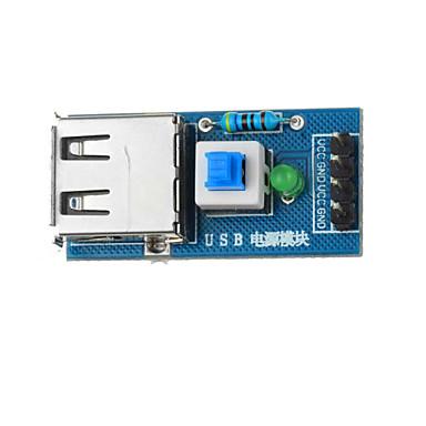 usb power converter module voor Arduino + Raspberry Pi - Blauw