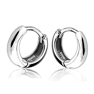 Brincos Curtos Brincos Compridos Prata Chapeada Prata Jóias Para Casamento Festa Diário Casual 2pçs