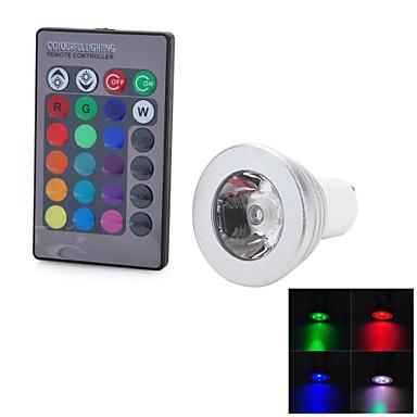 GU10 Lâmpada de LED Inteligente T 1 leds COB 100-200lm RGB noK Decorativa AC 85-265