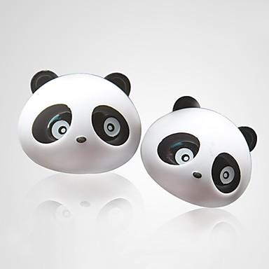 ziqiao 1 par panda encantador sabor carro purificadores de ar de saída do difusor fontes mágicas perfume