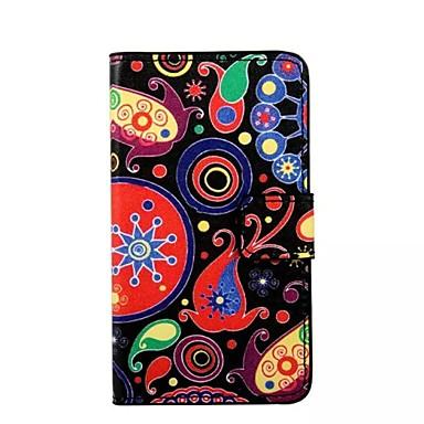 Para Samsung Galaxy Capinhas Carteira / Porta-Cartão / Com Suporte / Flip Capinha Corpo Inteiro Capinha Desenho Couro PU Samsung S7