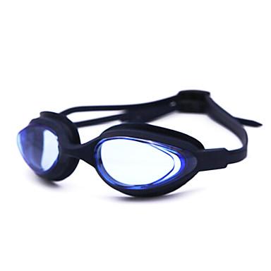 Zwembrillen Anti-condens silica Gel Nylon Wit Grijs Zwart Blauw Rose Grijs Blauw Donker Blauw Paars