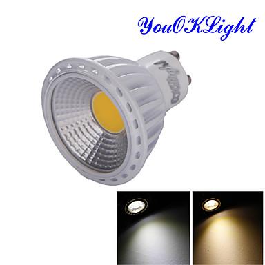 GU10 LED 스팟 조명 R63 1 LED가 COB 장식 따뜻한 화이트 차가운 화이트 600lm 3000/6000K AC 85-265 AC 220-240 AC 110-130V