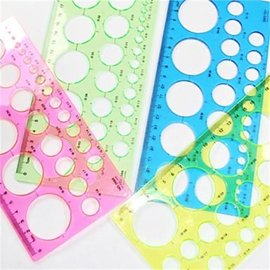 η τέχνη της κατασκευής χαρτιού Quilling γύρο πρότυπο - 4 χρώμα τυχαία