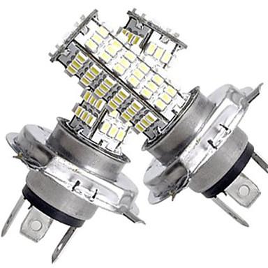 2 σε 1 h4 smd 120 λευκά LED φώτα 450lm