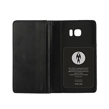 multi-função de luxo de estilo carteira de couro pu tampa de proteção de corpo inteiro com slot para cartão para Samsung Galaxy S7 / S6 /