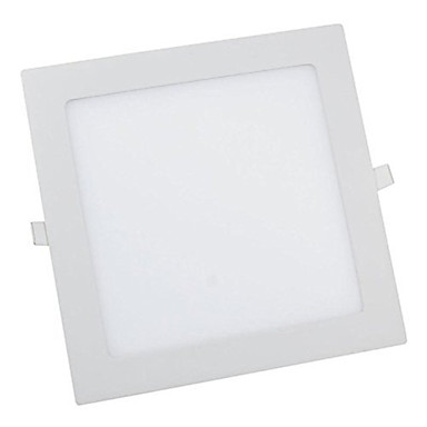 cheap Indoor Lights-1pc 12W Square LED Panel Light 60leds Warm/Cool White Color Recessed Panel Lighting Ultra thin Down Light for Hotel AC85-265V