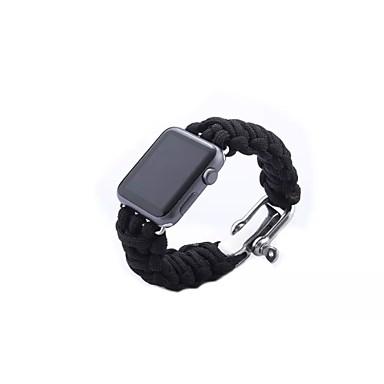 Pulseiras de Relógio para Apple Watch Series 3 / 2 / 1 Apple Fecho Moderno Tecido Tira de Pulso