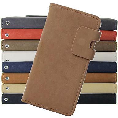 estilo carteira estojo de couro pu com e slot para cartão para Samsung Galaxy Note 2 nota 3 nota 4 Nota 5 borda (cores sortidas)
