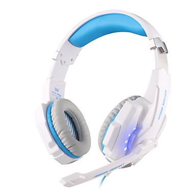 KOTION EACH KOTION EACH G9000 USB 7.1 귀 이상 / 머리띠 유선 헤드폰 동적 플라스틱 게임 이어폰 볼륨 컨트롤 / 마이크 포함 / 소음 차단 헤드폰