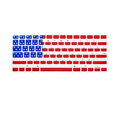 nemzeti zászló minta angol nyelven billentyűzet fedél szilikon bőr MacBook Air / MacBook Pro 13 15 17 colos minket verzió