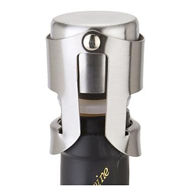 Stainless Steel Champagne Wine Bottle Stopper Portable Sealer Bar Cap