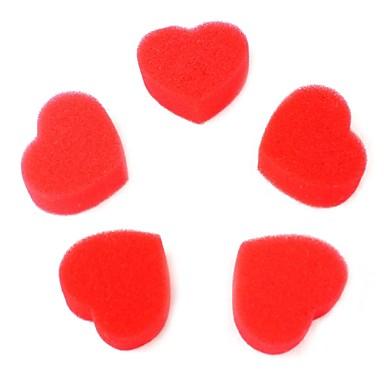 Szeretem mágikus kellékek szivacs szív piros 5db