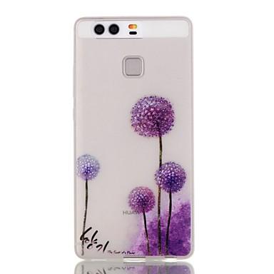 케이스 제품 Huawei P9 Lite P9 P8 Lite 화웨이 케이스 야광 뒷면 커버 민들레 소프트 TPU 용 화웨이 P9 화웨이 P9 라이트 Huawei P8 Lite Huawei Honor 5X