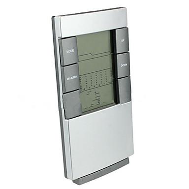 termômetro eletrônico coberta com o tempo de volta o tempo de luz despertador previsão