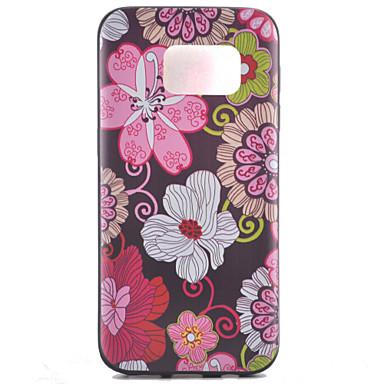 Para Samsung Galaxy S7 Edge Case Tampa Estampada Capa Traseira Capinha Flor PUT para Samsung Galaxy S7 edge plus S7 edge S7 S6 edge plus