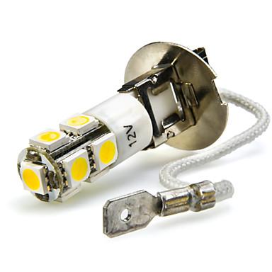 זול מנורות ערפל לרכב-2pcs h3 רכב נורות 7 w smd 5050 680 lm 7 הוביל אורות ערפל עבור אוניברסלי / פולקסוואגן passat / כל הדגמים / passat b5 כל השנים