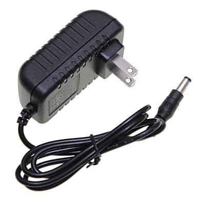 US Plug 12v 1a 5,5 x 2,1 mm led szalag fény / CCTV biztonsági kamera monitor tápegység adapter dc2.1 ac100-240v