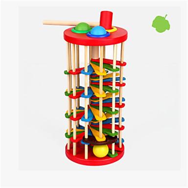 Bolas Brinquedos Diversão Madeira Clássico Peças Crianças Dom