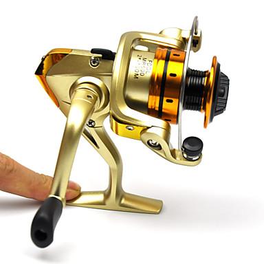 Orsók 5.1:1 10 Golyós csapágy cserélhető Tengeri halászat Sodort Folyóvíz horgászat Pontyhorgászat-MR500
