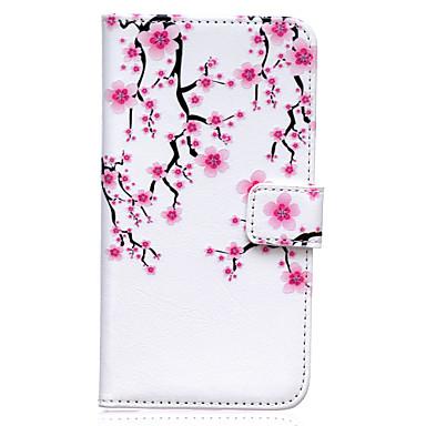 Capinha Para Samsung Galaxy Samsung Galaxy Capinhas Porta-Cartão Carteira Com Suporte Flip Capa Proteção Completa Flor PU Leather para S8