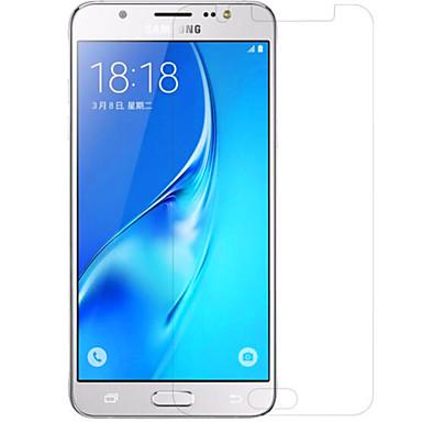 Képernyővédő fólia Samsung Galaxy mert J5 (2016) PET Kijelzővédő fólia Anti-ujjlenyomat