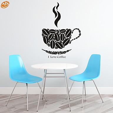 워드&인용구(부호) / 로맨스 / 패션 / 추상 / 판타지 벽 스티커 플레인 월스티커,PVC M:44*62cm/ L:57*83cm