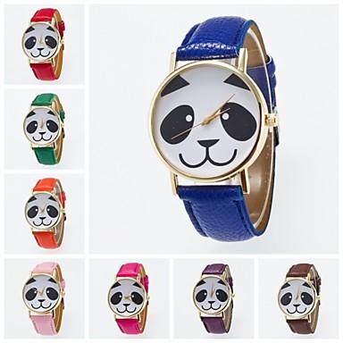 женские кварцевые наручные часы pu band charm / fashion black / white / blue / red / orange / brown / green / pink / purple / yellow / khaki /