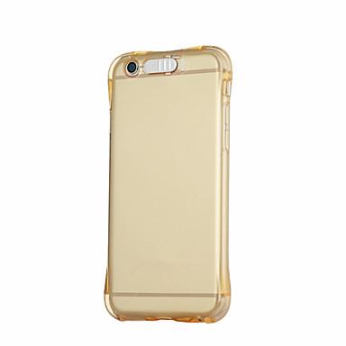 용 아이폰7케이스 / 아이폰7플러스 케이스 / 아이폰6케이스 / 아이폰6플러스 케이스 / 아이폰5케이스 투명 케이스 뒷면 커버 케이스 단색 소프트 TPU 용 Apple아이폰 7 플러스 / 아이폰 (7) / iPhone 6s Plus/6 Plus