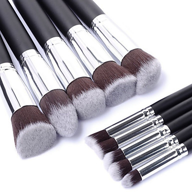 Professional Makeup Brushes Makeup Brush Set 10pcs Portable Travel  Eco-friendly Professional Full Coverage Synthetic Wood Makeup Brushes for  Blush