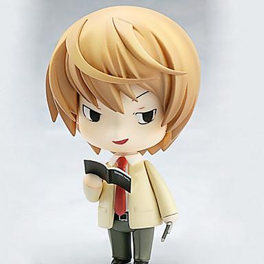 애니메이션 액션 피규어 에서 영감을 받다 데스 노트 코스프레 10 CM 모델 완구 인형 장난감