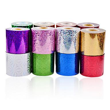 1roll nail art foils-6cmX120m each piece-PVC-Absztrakt-Ujj / Toe-Más dekorációk