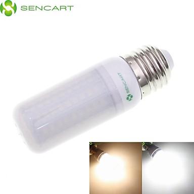 E14 G9 GU10 B22 E26 E26/E27 LED kukorica izzók Süllyesztett 102 led SMD 2835 Vízálló Dekoratív Meleg fehér Hideg fehér 3000-3500/6500-7500