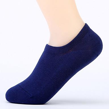 Rövid zoknik Férfi Légáteresztő Upijanje znoja Slabo zatezanje - 1 pár mert Jóga Pilates Golf Futball Kerékpározás / Kerékpár Fitnesz