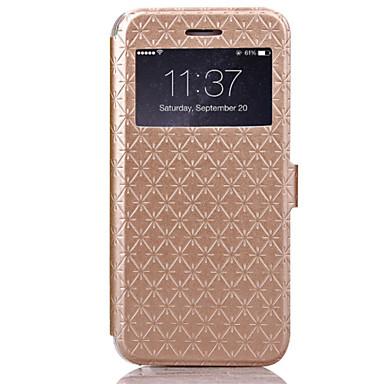 iphone 7 mais ling xadrez padrão de alta qualidade caso de couro carteira pu 4,7 polegadas para iphone 6s 6 mais
