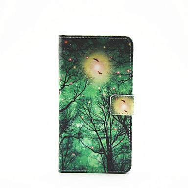 용 삼성 갤럭시 케이스 카드 홀더 / 스탠드 / 플립 / 패턴 / 마그네틱 케이스 풀 바디 케이스 나무 인조 가죽 Samsung A7(2016) / A5(2016) / A3(2016)