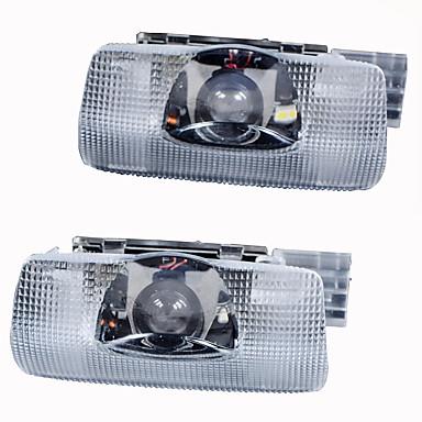 2 개는 자동차 문 환영 빛 예의가 도요타 자동차 레이저 프로젝터 로고 유령 그림자 빛을 주도