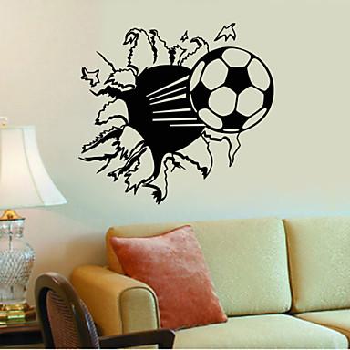 모양 / 스포츠 / 3D 벽 스티커 3D 월 스티커,vinyl 57*71cm