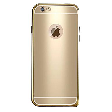 용 아이폰6케이스 / 아이폰6플러스 케이스 도금 / 패턴 케이스 뒷면 커버 케이스 단색 하드 메탈 iPhone 6s Plus/6 Plus / iPhone 6s/6